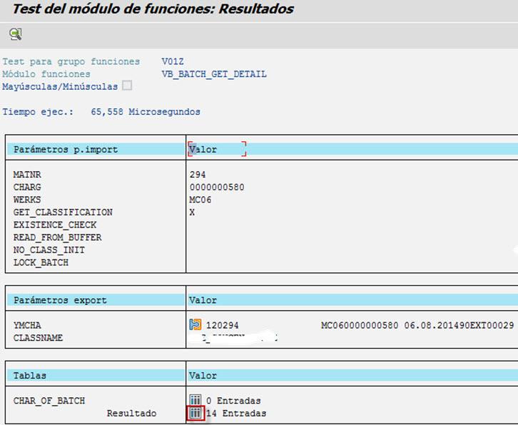 01302 - SE37 - VB_BATCH_GET_DETAIL - Resultados